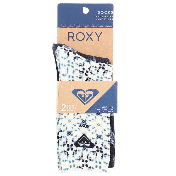 Комплект носков женский Roxy Mid Calf Sock Anthracite