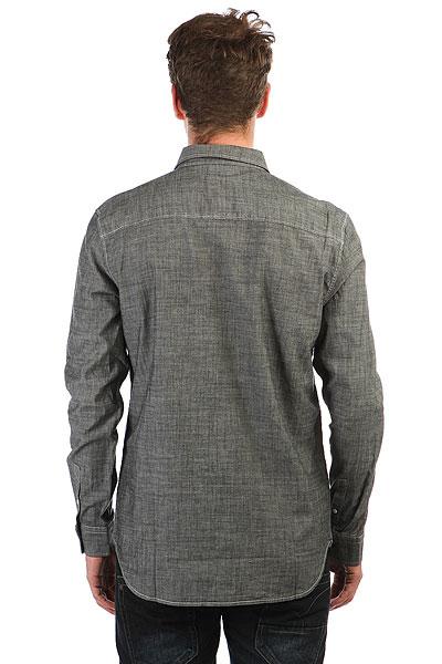 Рубашка в клетку DC Arrowood 2 Black Chambray