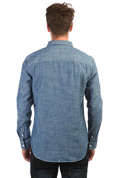 Рубашка в клетку DC Arrowood 2 Indigo Chambray