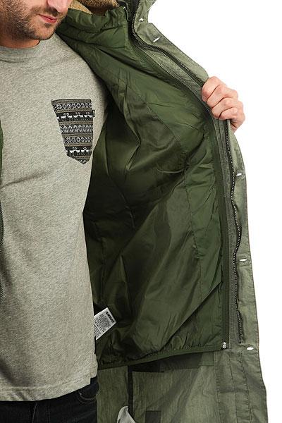 Куртка парка Quiksilver Bremerland Rifle Green