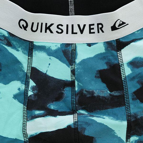 Трусы Quiksilver Boxer Poster Moroccan Blue Camo