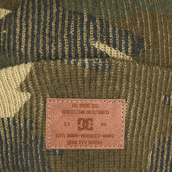 Шапка носок DC Label Woodland Camo