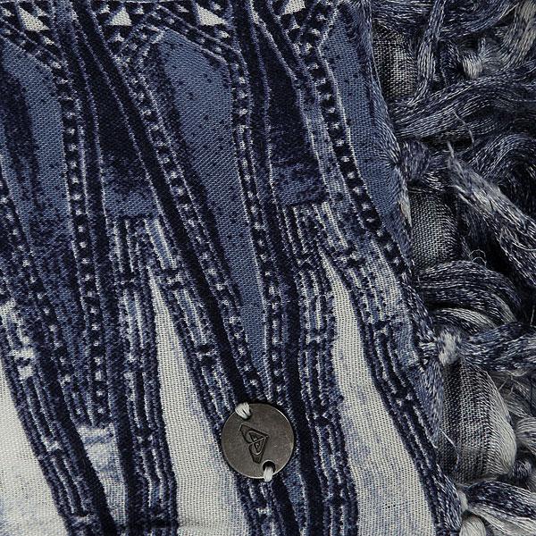 Шарф женский Roxy Sing To Wear Dress Blues Chief Pr
