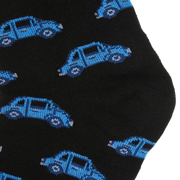 Носки высокие детские Запорожец Машинка Черный