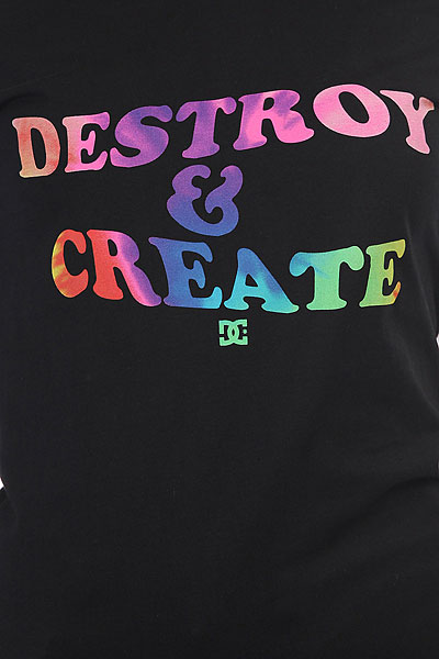 Футболка женская DC Destroy Create Black