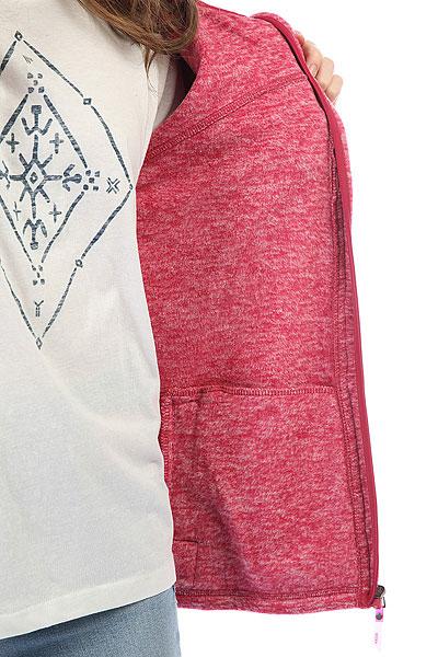 Толстовка классическая женская Roxy Su Red Bud