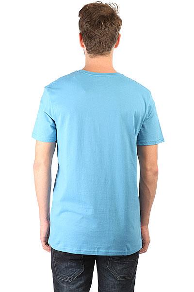 Футболка Quiksilver Sssustemorningg Tees Cendre Blue