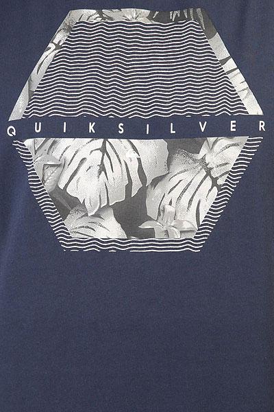 Футболка Quiksilver Ssclastecomfort Navy Blazer