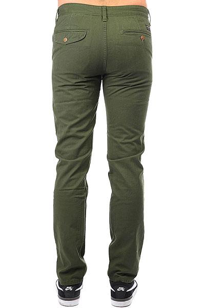 Штаны прямые Quiksilver Everyday Chino Rifle Green