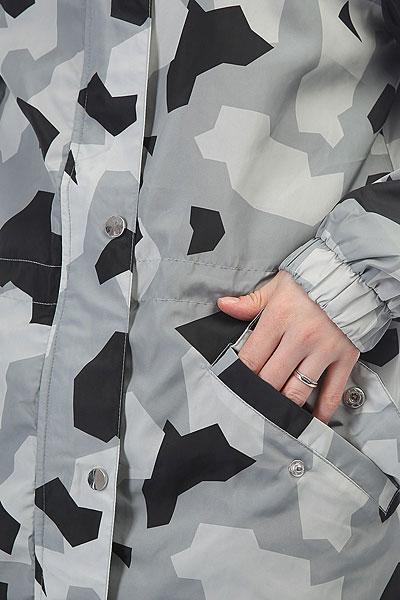 Ветровка женская Extra Tropics Grey Camo