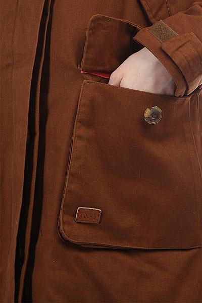 Куртка женская Flicka Melody Day Light Brown