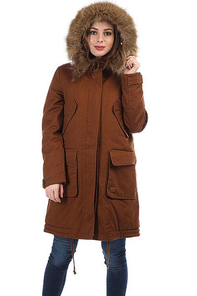 Куртка парка женская Flicka Melody Day Light Brown