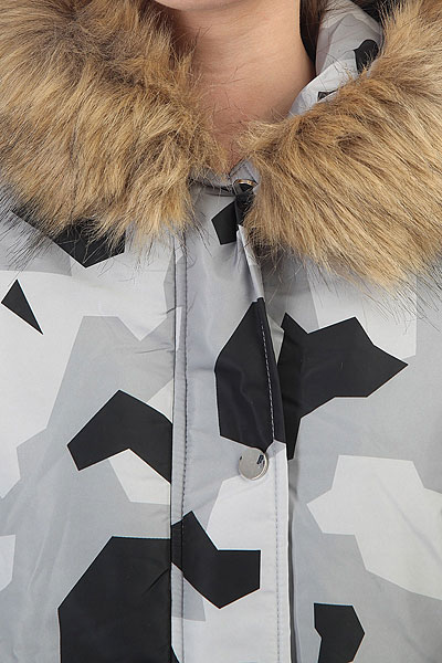 Куртка парка женская Extra Wind Cave Camo