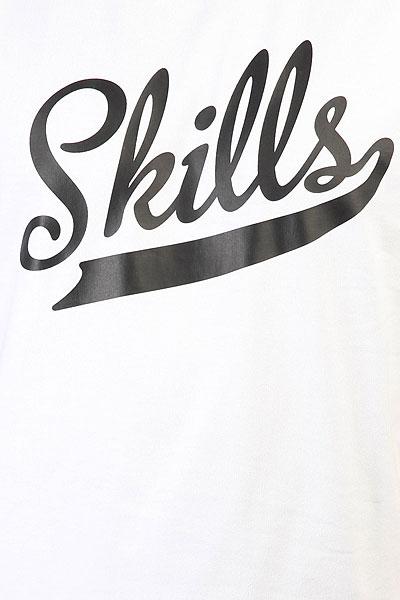 Футболка Skills Classic Script Snow White
