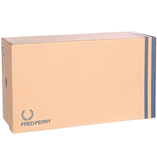 Кеды низкие Fred Perry Sidespin Canvas White