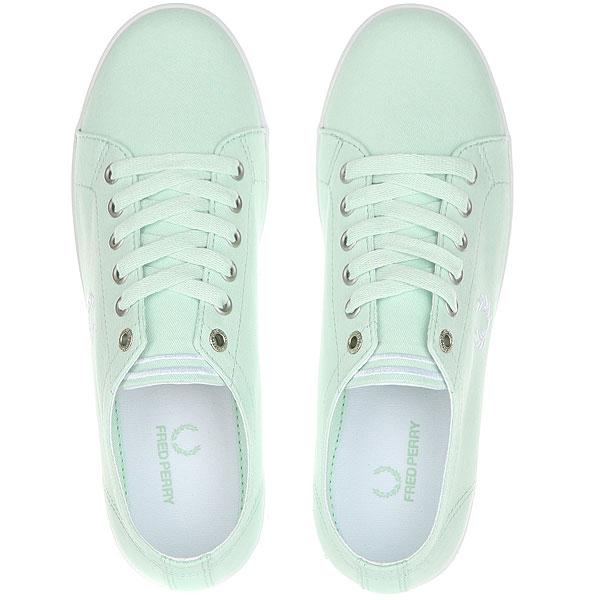 Кеды низкие Fred Perry Kingston Twill Aqua