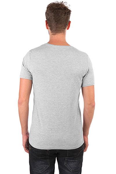 Футболка Wearcraft Premium Slim Fit Юла Logo Серый Меланж