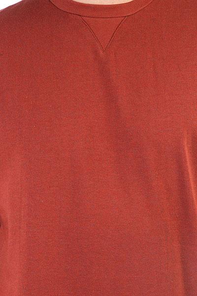 Толстовка свитшот DC Rebel Crew 3 Burnt Henna