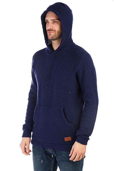 Толстовка кенгуру Quiksilver Lupao Medieval Blue