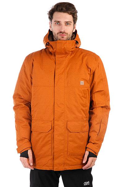 Купить Куртка утепленная DC Harbor Leather Brown 1183593