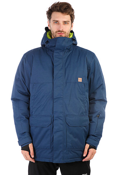Куртка утепленная DC Harbor Jkt Insignia Blue