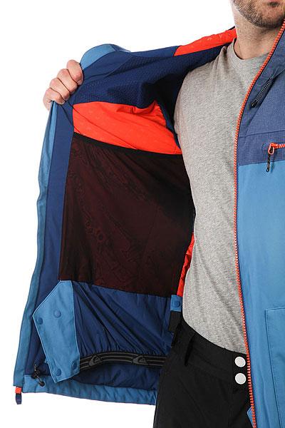 Куртка утепленная Quiksilver Arrow Wood Vallarta Blue