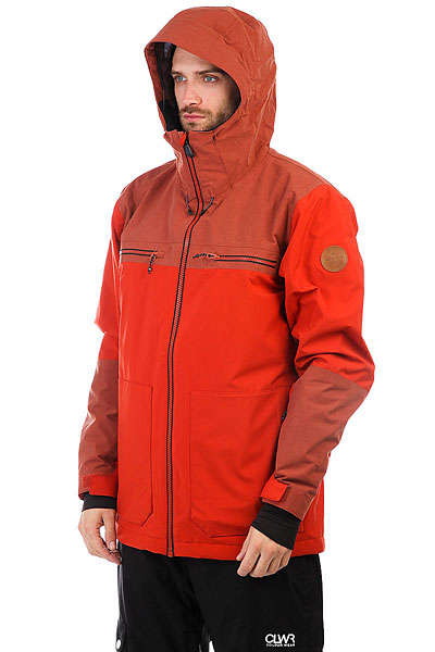 Куртка утепленная Quiksilver Arrow Wood Ketchup Red