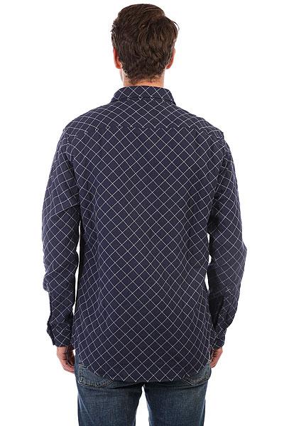 Рубашка в клетку Quiksilver Rippa Down Medieval Blue