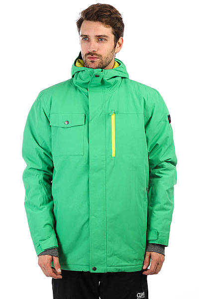 Куртка Quiksilver Mission Sol Kelly Green
