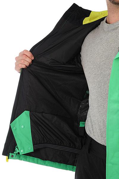 Куртка утепленная Quiksilver Mission Sol Kelly Green