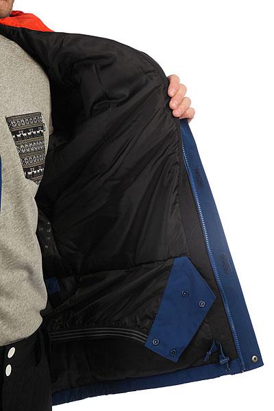 Куртка утепленная Quiksilver Mission Sol Estate Blue