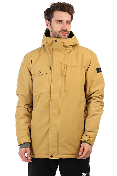 Куртка Quiksilver Mission Sol Mustard Gold