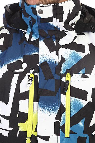 Куртка утепленная Quiksilver Mission Pr Sulphur Spring Break