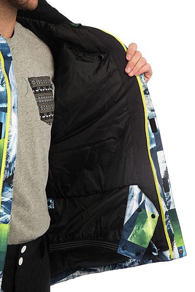 Куртка утепленная Quiksilver Mission Pr Sulphur Spring Pow