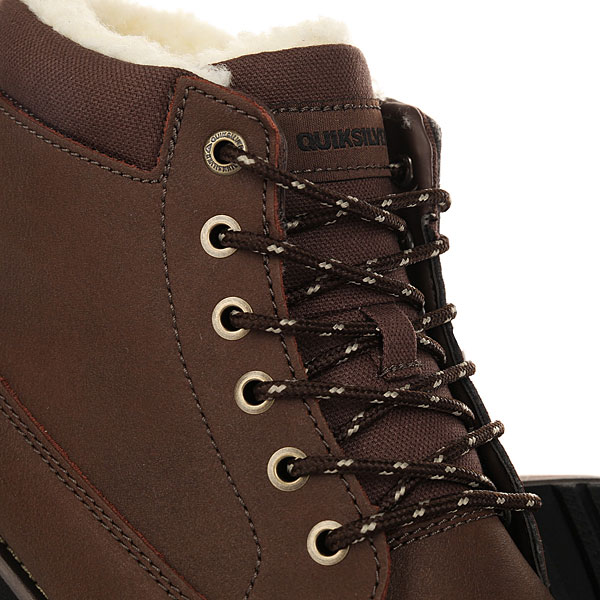 Ботинки зимние Quiksilver Mission Boot Dark Brown