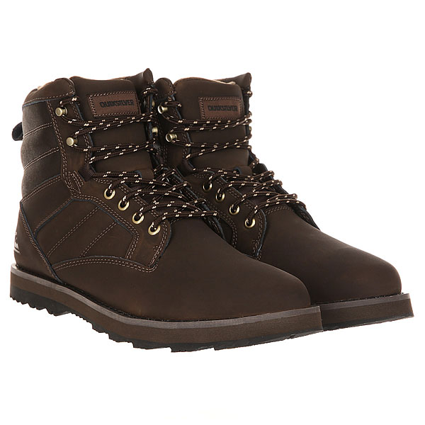 Ботинки зимние Quiksilver Bronk Boot Brown
