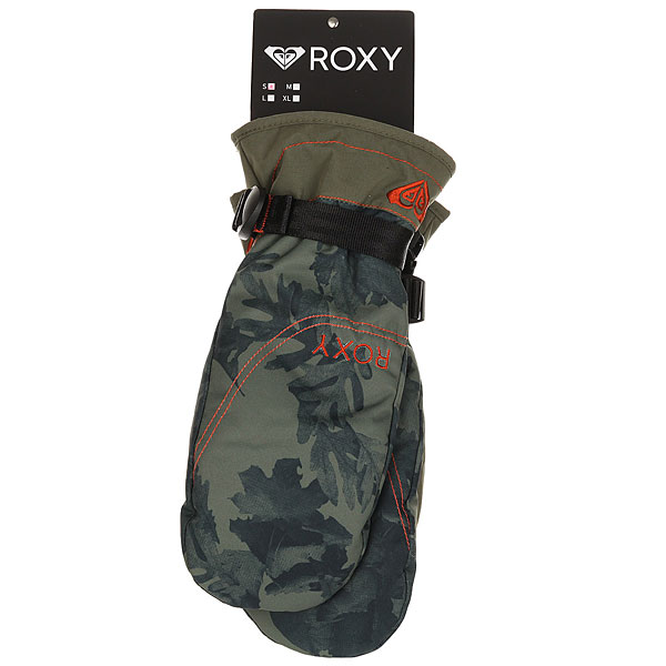 Варежки женские Roxy Jetty Mitt Dusty Ivy Sylvan