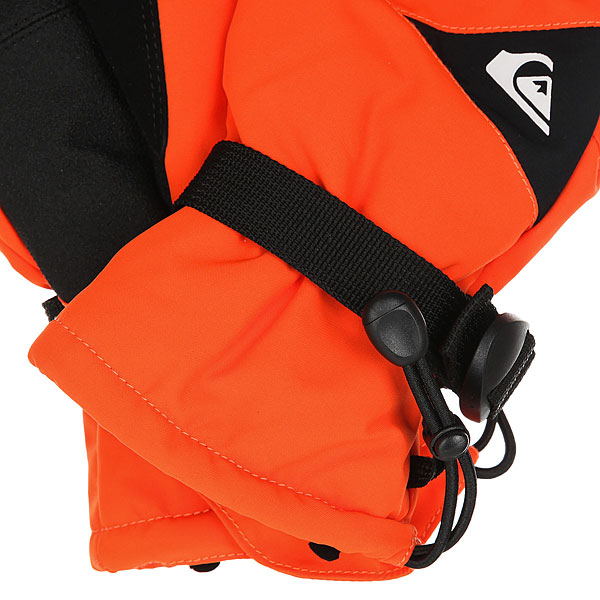 Перчатки детские Quiksilver Mission You Mandarin Red