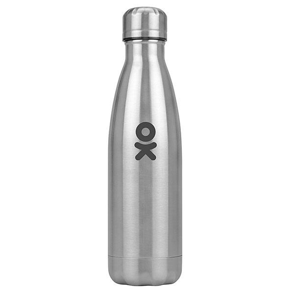 Термобутылка Одноклассники Актив Logo Серебристая