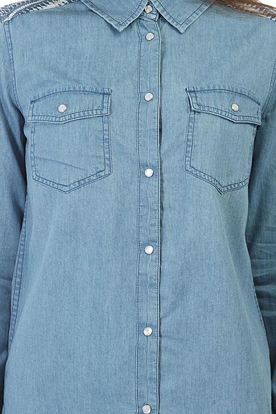 Рубашка женская Roxy Lightofdown Medium Blue