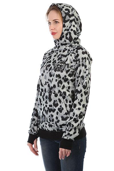 Толстовка сноубордическая женская DC Allstar Po Snow Leopard