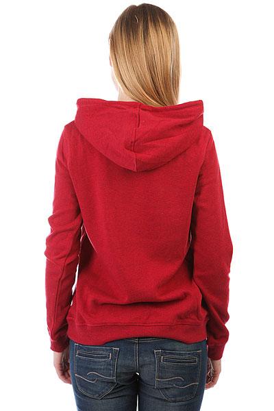 Толстовка кенгуру женская Roxy Winter Dreamb Persian Red Heather