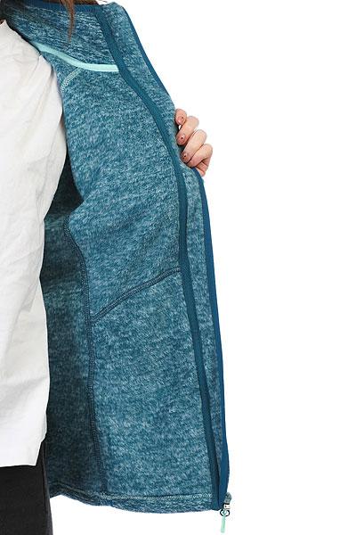 Толстовка сноубордическая женская Roxy Harmony Ink Blue