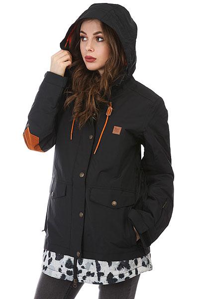Куртка утепленная женская DC Riji Black