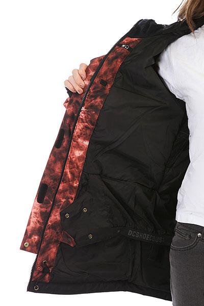 Куртка женская DC Riji Burnt Henna Tie Dye