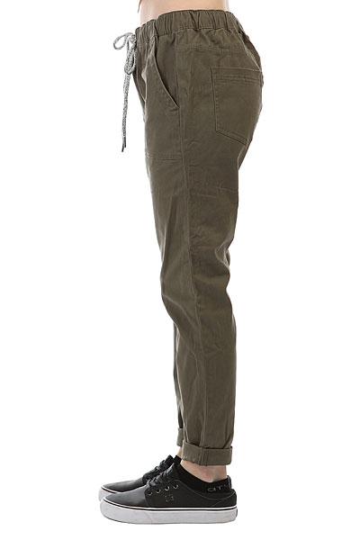 Штаны прямые женские Roxy Dudepant Dusty Olive
