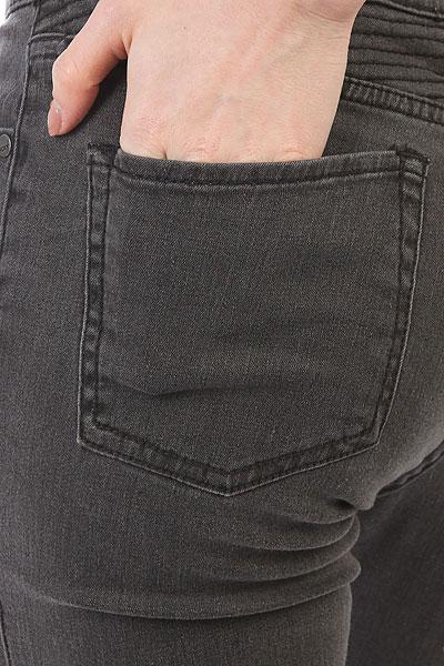 Джинсы узкие женские Roxy Suntrippersd Black Used