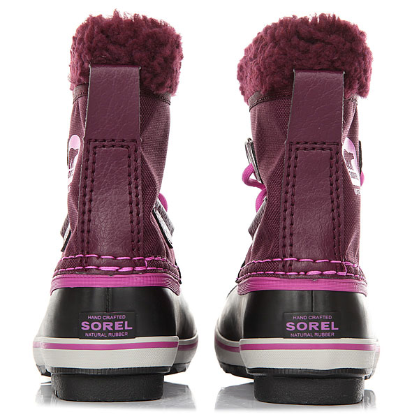Ботинки зимние детские Sorel Yoot Pac Nylon Purple Dahlia