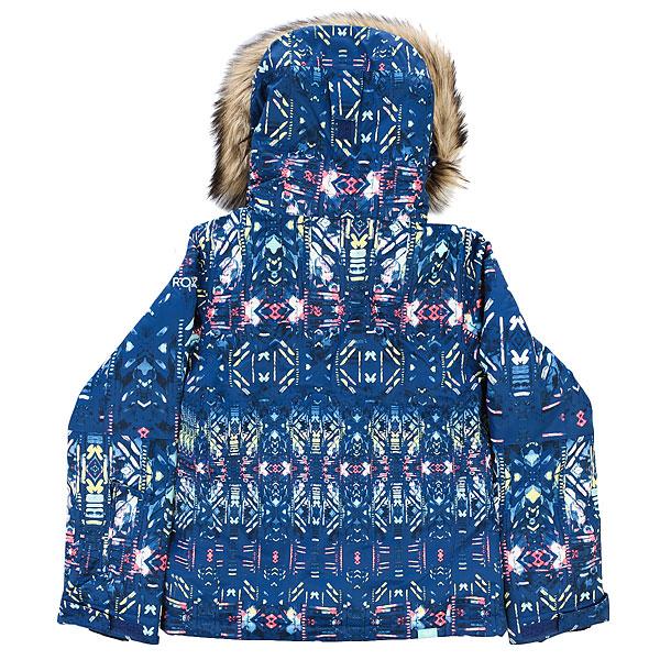 Куртка утепленная детская Roxy Jet Ski Girl G Snjt Sodalite Blue_haveli