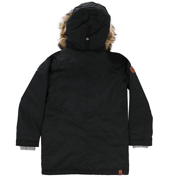 Куртка детская Quiksilver Ferris Yo Parka Black